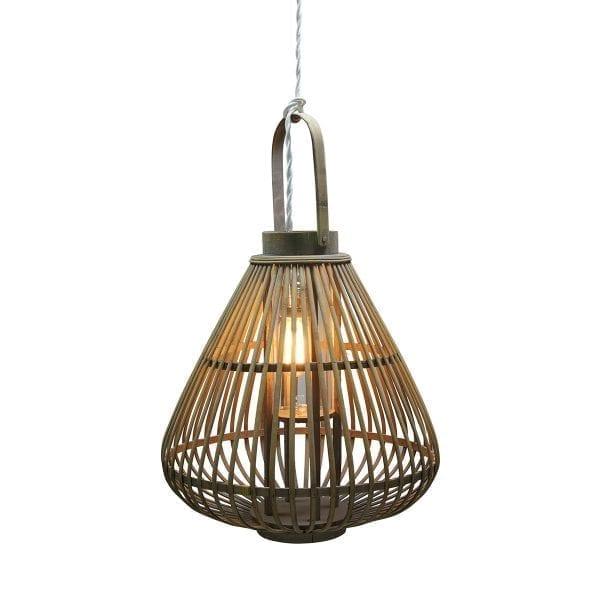 Lámparas colgantes de bambú SHIRA.