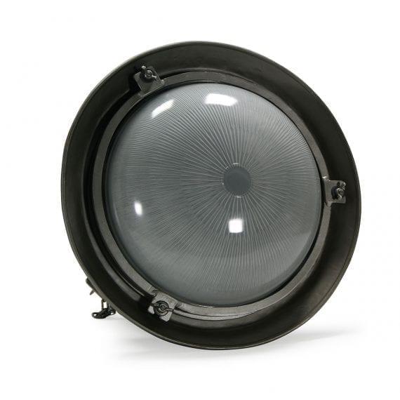 Fotos de detalle de la lámpara Rotterdan cristal opaco.