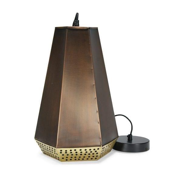 Imagen de la lámpara de techo metálica, estilo retro, Mara.