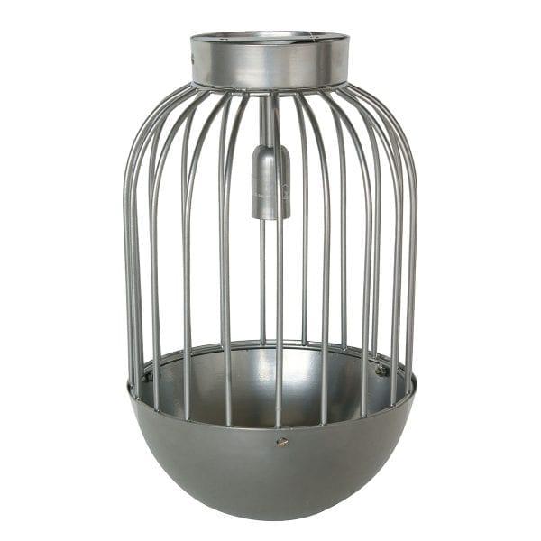 Lampe de plafond dans les tons gris.