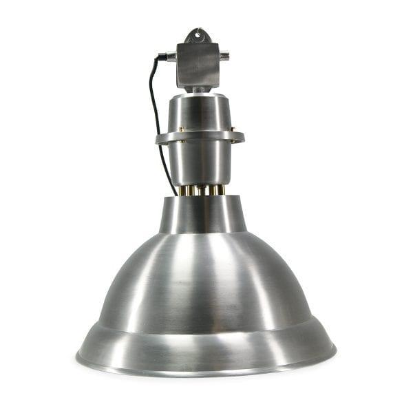 Photo.Lampe industrielle pour les cafétérias.