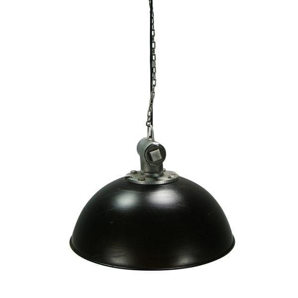 Photo.Lampe de plafond industriel.
