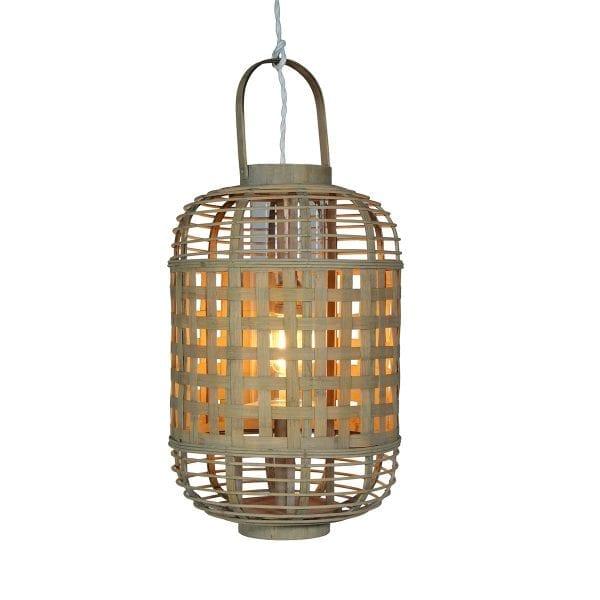 Lampes en bambou de Francisco Segarra.