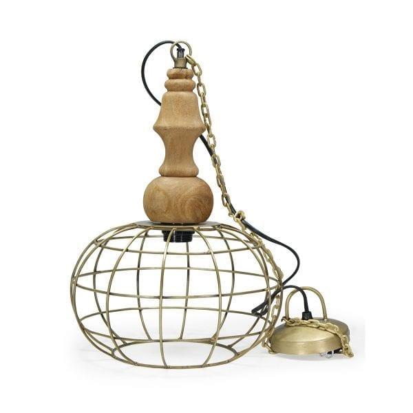 Lampes suspendues couleur doré tina.