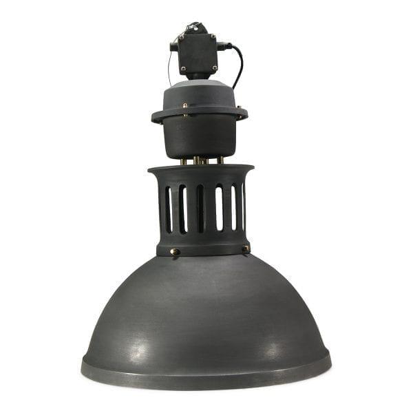 Luminarias de estilo industrial Burnaby tono negro.