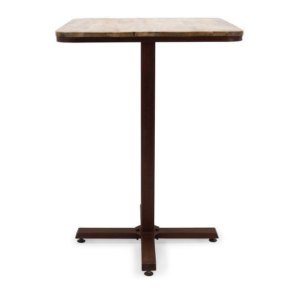 Mesas para cafetería cuadrada modelo Adriana.