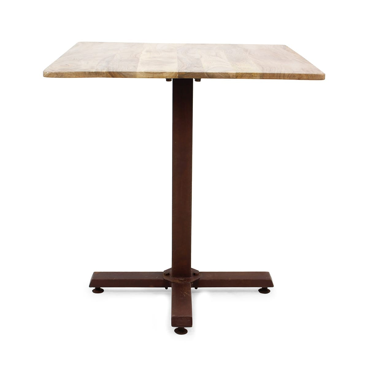 Mesas cuadradas para cafeterías.