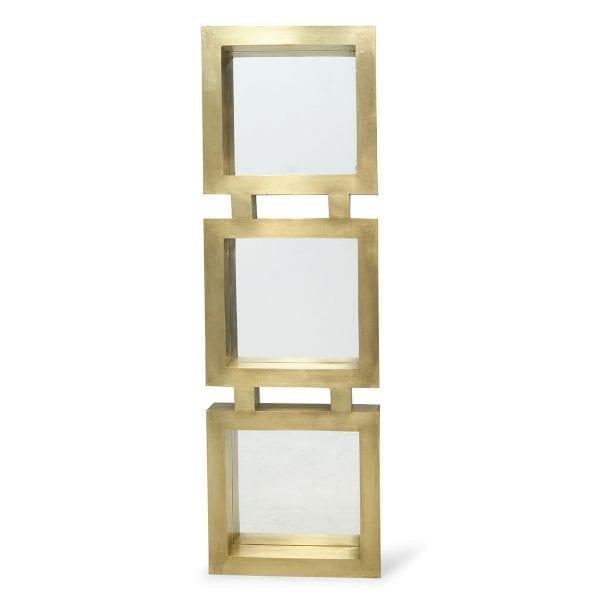 Espejos dorados modelo Magno 3 espejos.