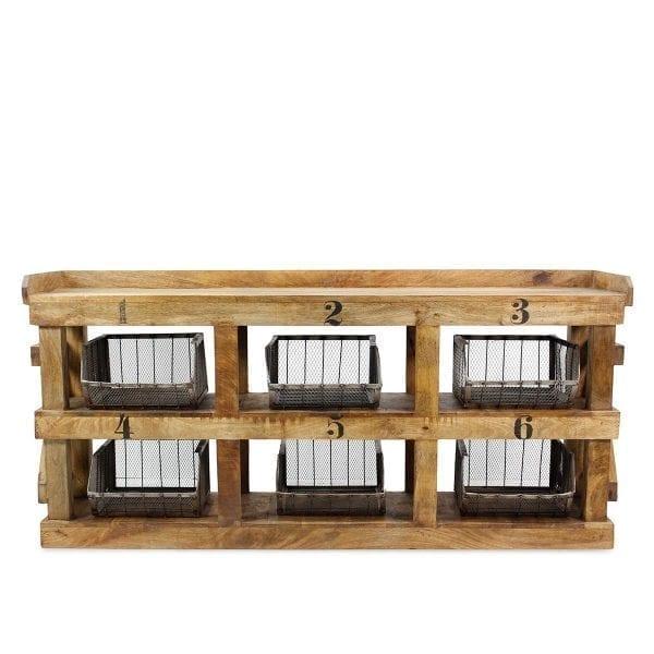 Muebles expositores vintage Moreila
