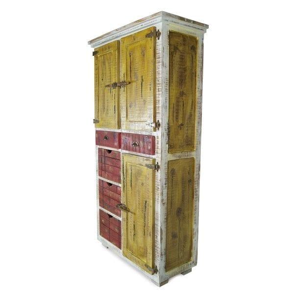 Mobiliario vintage para almacenaje.