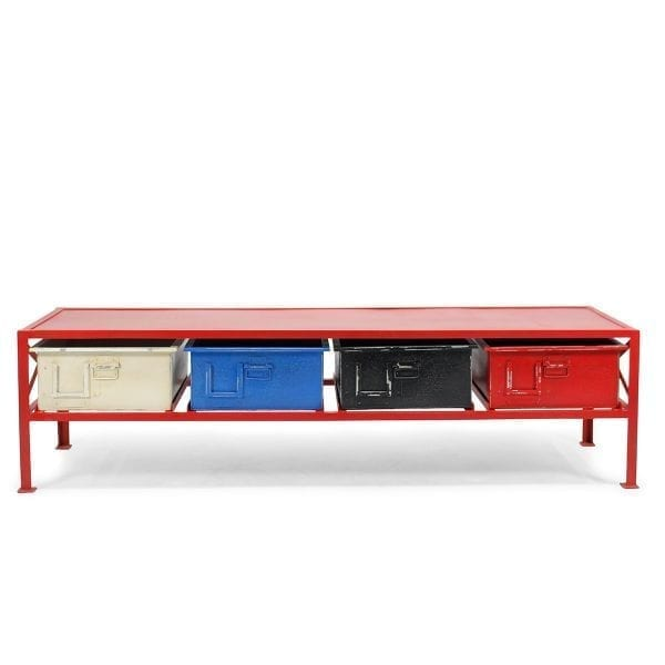 Muebles auxiliares para uso en hostelería, modelo Duna.