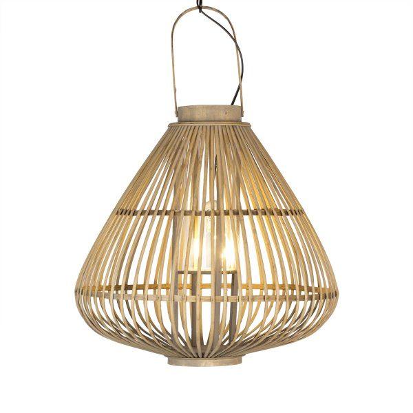 Portavelas y lámparas de bambú SHIRA.