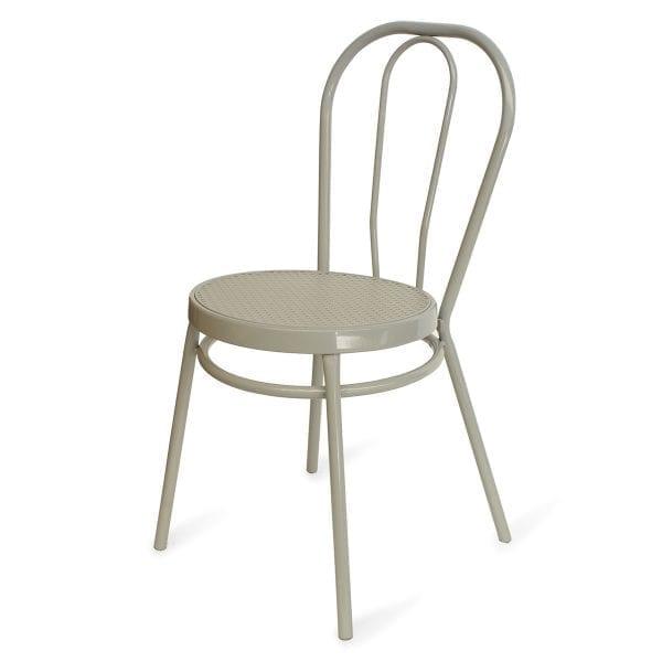 Imágen silla Bistrot metálicas tono gris de venta en Francisco Segarra.