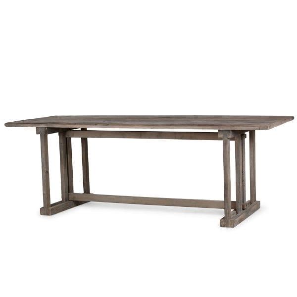 Table en bois vintage de grande dimension.