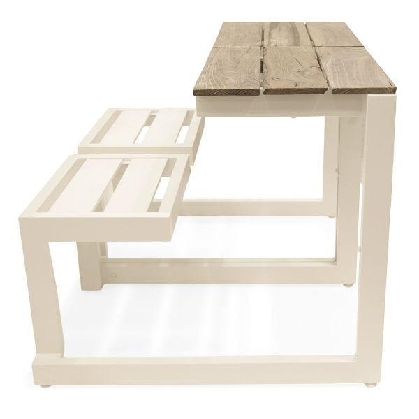Photo. Table pique-nique industriel.