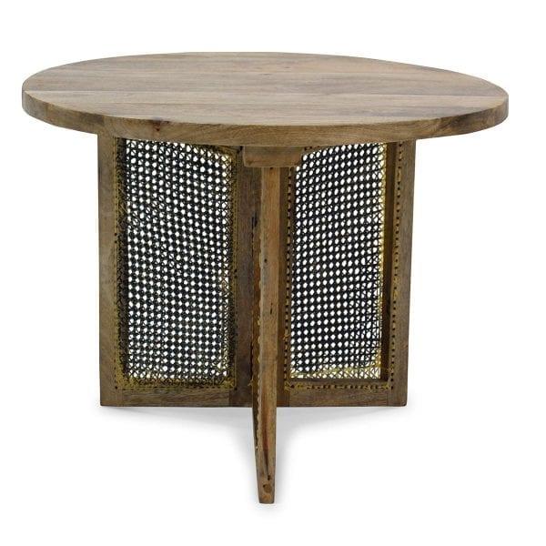 Petite table de salle d'attente.