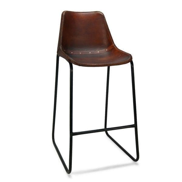 Imagen de los taburetes de diseño pie patín Mews Café de Francisco Segarra.