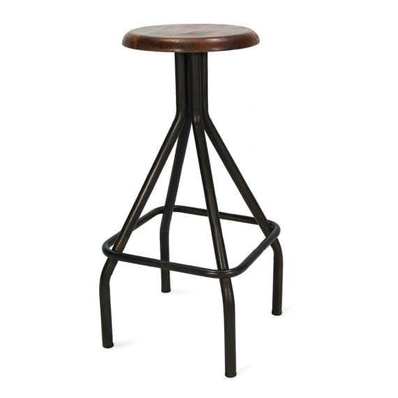 Foto del taburetes bar modelo Tilton Creta de la firma Francisco Segarra.
