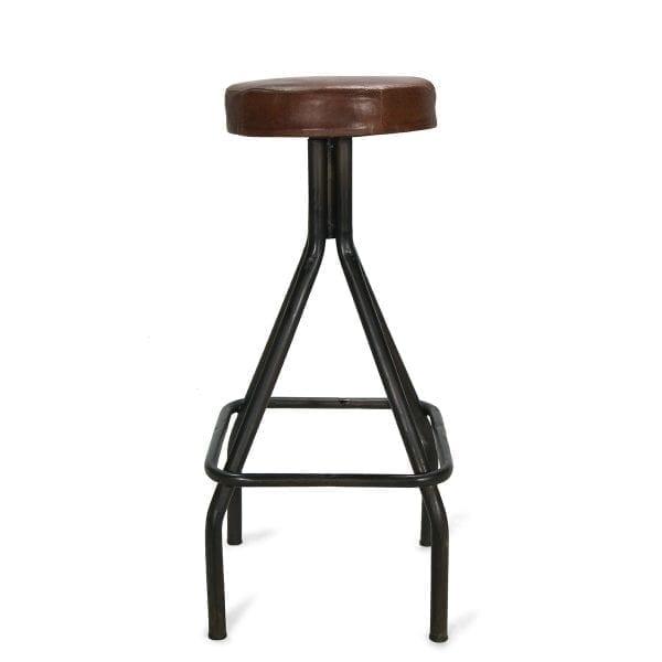 Imagen del modelo Mendel Creta. Taburetes de bar de la firma Francisco Segarra.