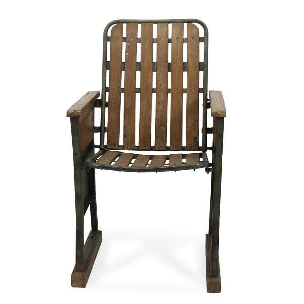Ancienne chaise de bar de style vintage.