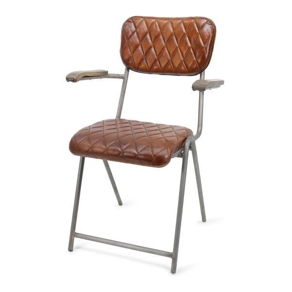 Chaise pour bar de style vintage.