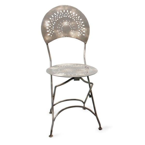 Chaise pour bar ou restaurant pliable.