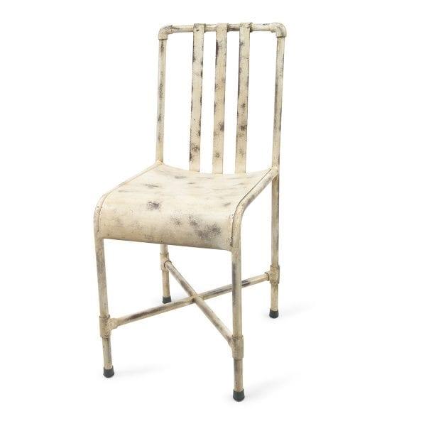 Chaise pour restaurant ou bar blanche.