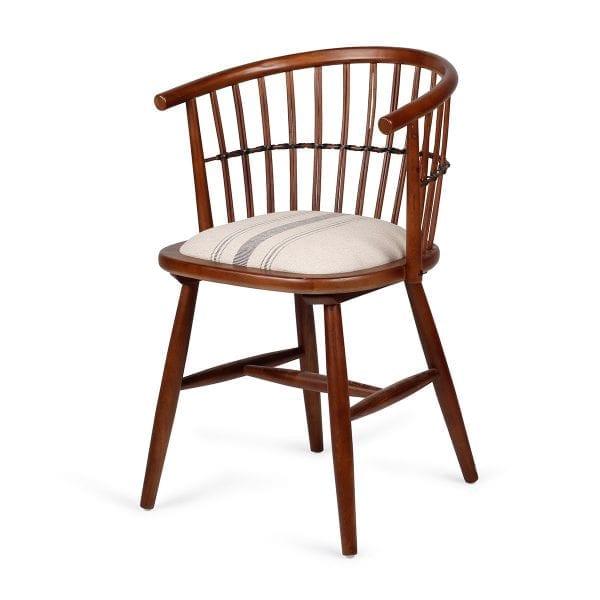 Chaise pour restaurant bar en bois.