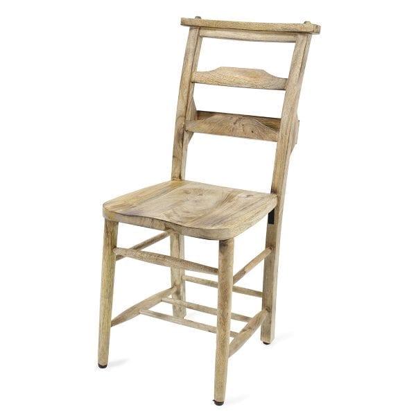 Chaises de bar en bois Santa Fé.