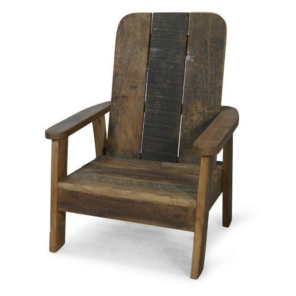 Chaises en bois pour espaces enfants.