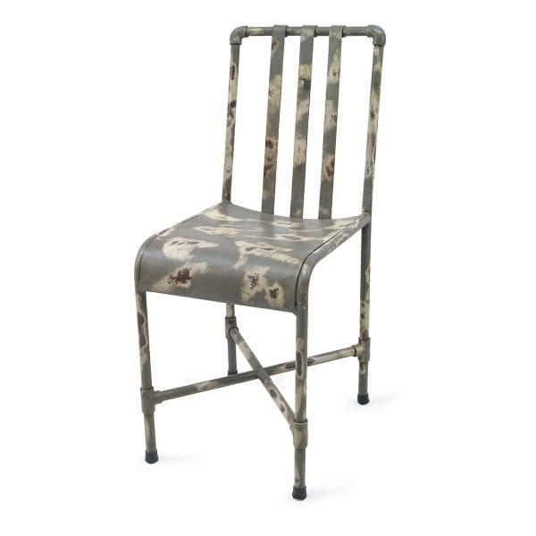 Chaise pour restaurant ou bar grise.