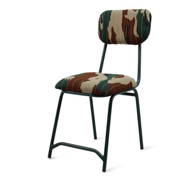 Chaise militaire Duan pour magasins.