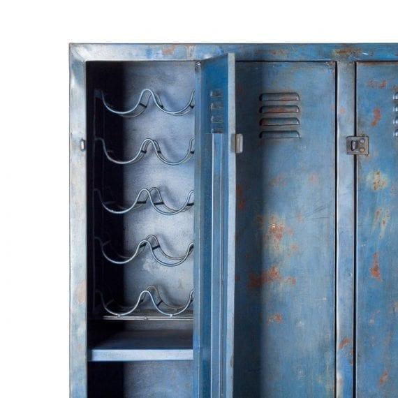 Imagen de detalle del mueble botellero Siena.