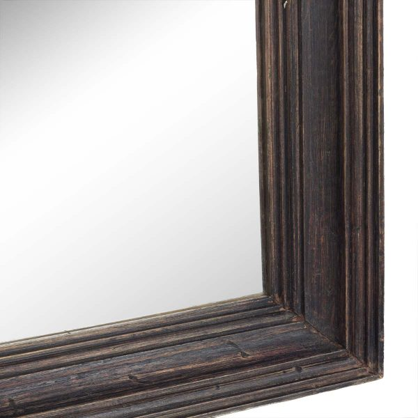 Espejos grandes de pared en madera.