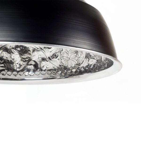 Fotos lámpara Kelty, de estilo vintage para interiorismo comercial.
