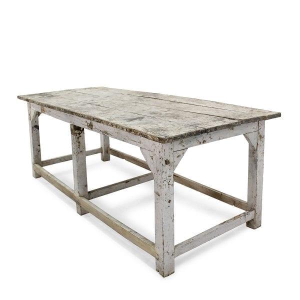 Mesas vintage de madera para restaurantes.