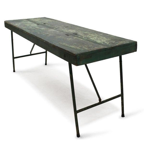 Fotos. Mesas para comercios de segunda mano.