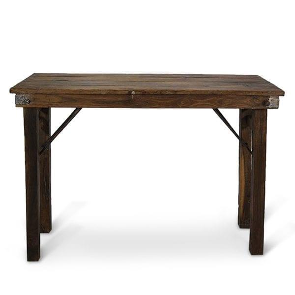 Fotos. Mesas plegables antiguas.