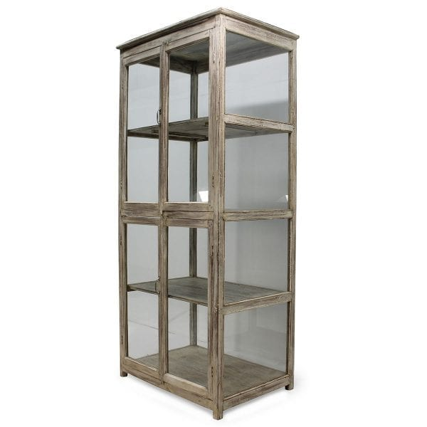 Meuble vitrine pour l'aménagement de commerce.