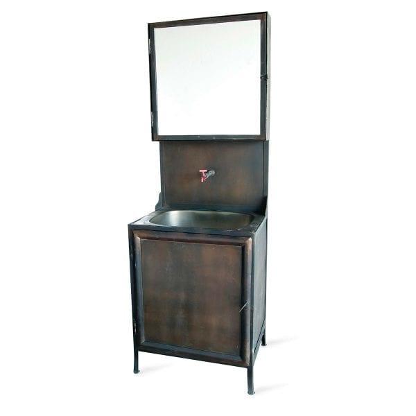 Meuble Boston en métal pour salle de bain de FS.
