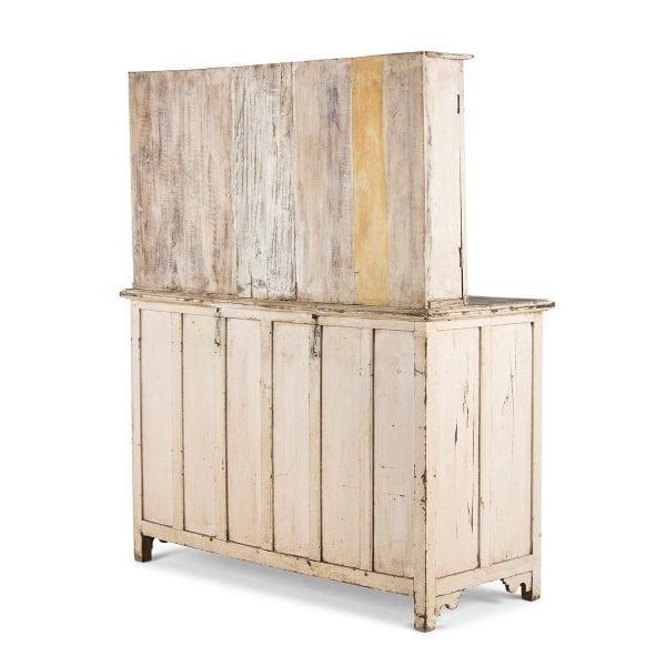 Meuble présentoir en bois pour magasin.