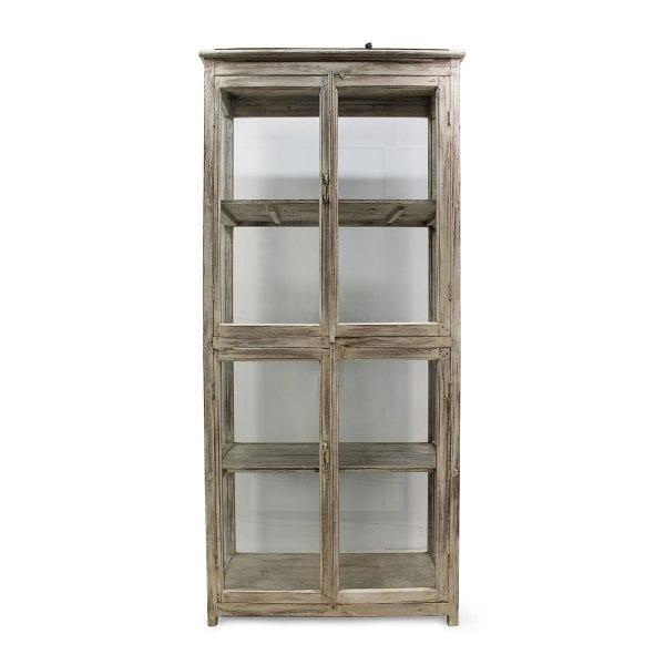 Meuble vitrine vintage pour commerce.