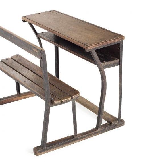 Mobiliario vintage para espacios infantiles.