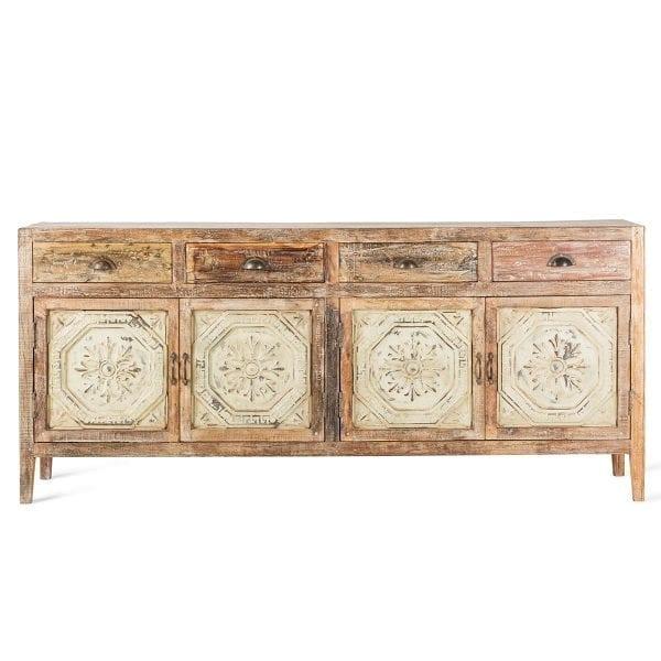 Mueble aparador comercial de estilo vintage.