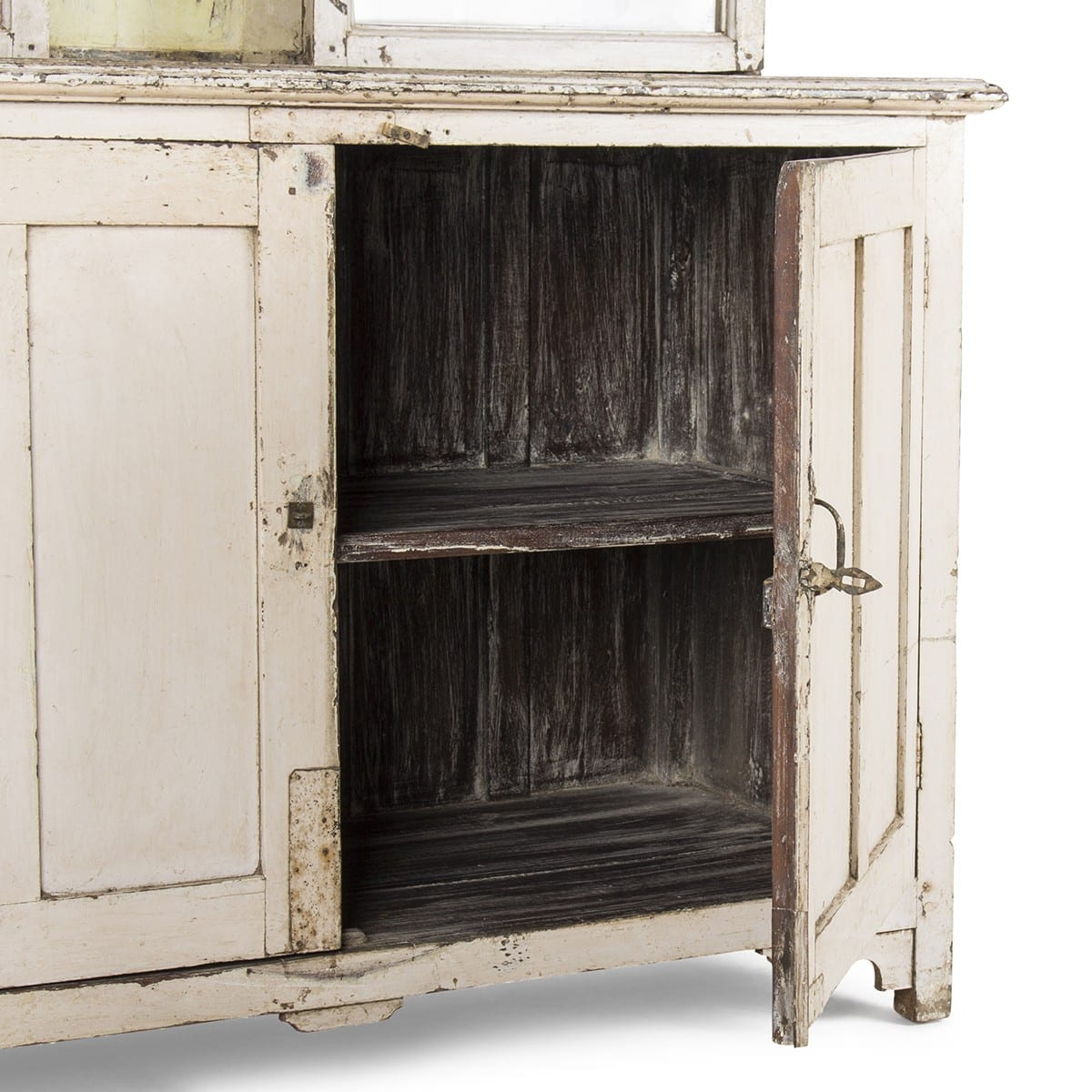 Mueble expositor antiguo para tiendas.