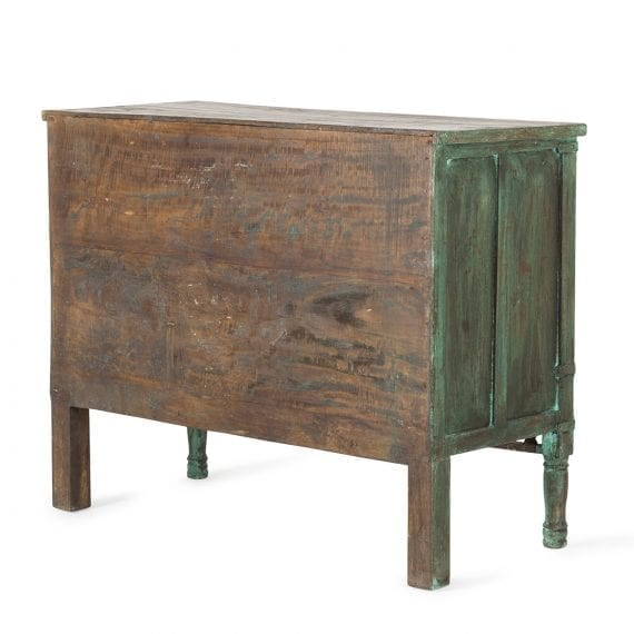 Mueble vintage recuperado para comercios.
