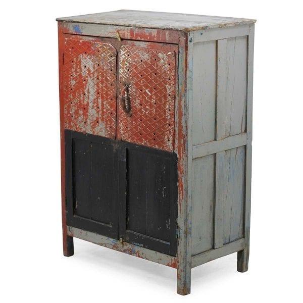 Mueble de estilo vintage para espacios comerciales.