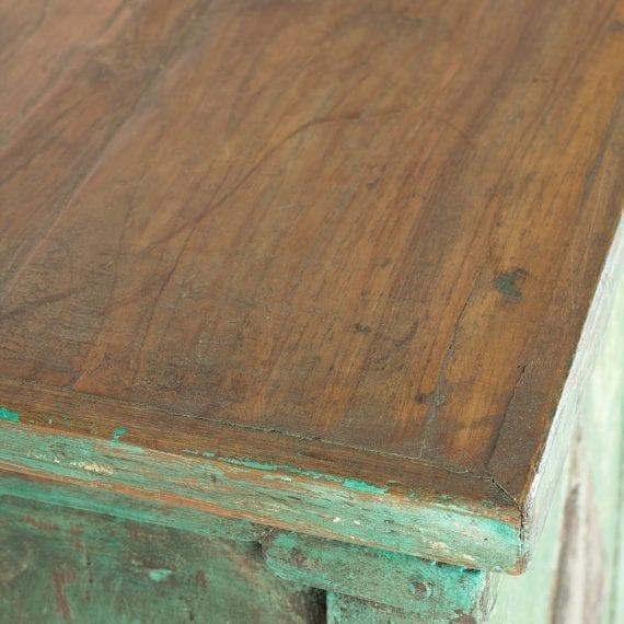 Mueble de estilo vintage recuperado.