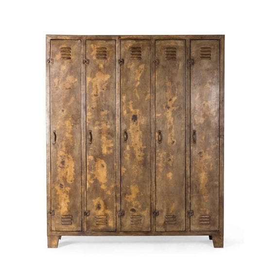 Mueble Siena marrón. Muebles para hostelería con botellero.
