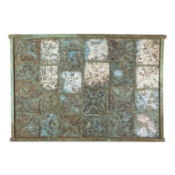 Panel decorativo antiguo vintage.